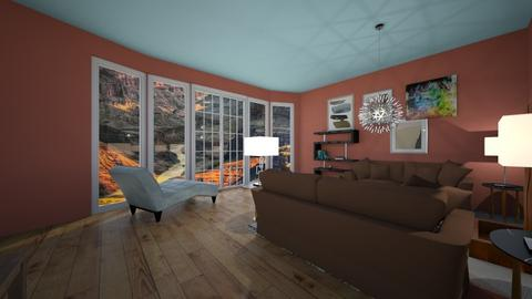 Canyon Inspired - Country - Living room  - by Chickie4012
