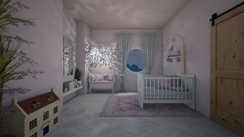 fairy tale nursery - Kids room - by stephanie delios