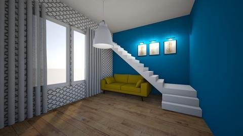 Salon i schody   - Living room  - by MeraEraLu