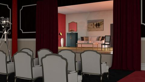 Theater Stage - Classic - by Sally Simpson