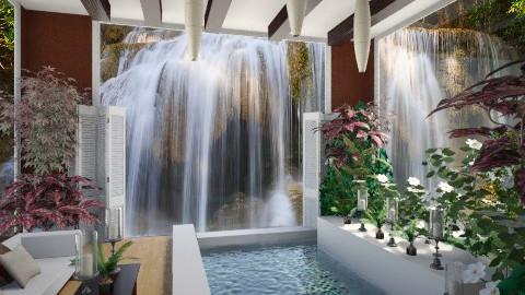 Koen Inspired  - Bathroom  - by Sandra Shirley McBride