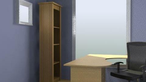 Martin's Office Swirl Desk - Minimal - Office  - by designyogi