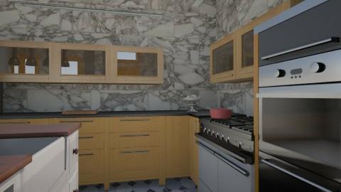 grey shades of kitchen 2 - Minimal - Kitchen  - by herjantofarhan
