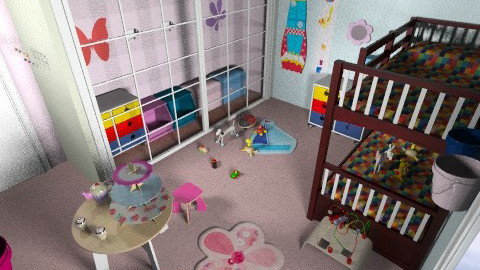 kids room by Alicia 1 - Eclectic - Kids room - by CARMEND70