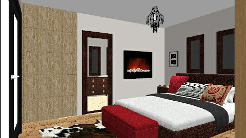 me - Rustic - Bedroom  - by dega83