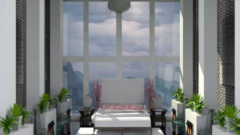 Bedroom B/W - Glamour - Bedroom  - by deepthinker