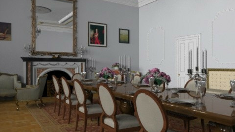 grand room - Classic - Living room  - by fre82