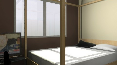 delle bedroom - Minimal - Bedroom - by fidelle