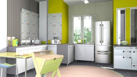 limeKitchen. - Modern - Kitchen  - by decorj