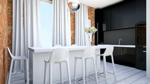 p000 - Retro - Kitchen - by ewcia11115555
