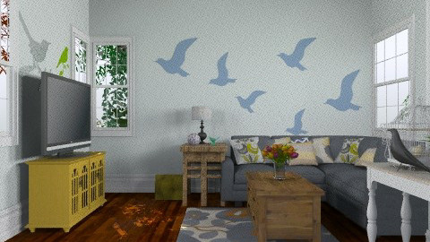 birds - Glamour - Living room  - by sarahl