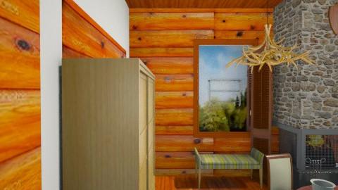 Hunters Haven - Rustic - Living room  - by CarlyAnneBaadte