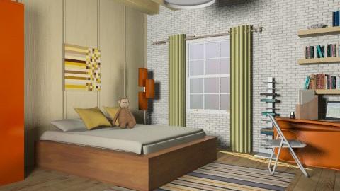 Woodreck B.Room - Classic - Bedroom  - by Aliya Al