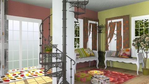 Coloured - Hallway  - by getun
