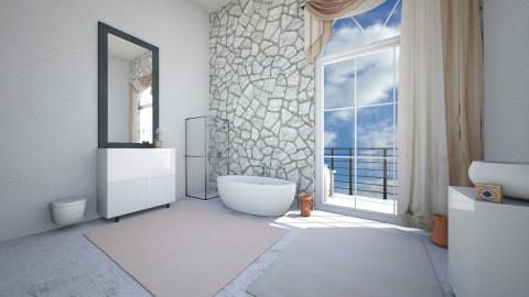 Room 4 - Minimal - Bathroom  - by Klaudia O