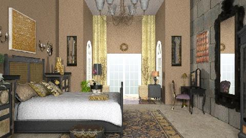 Exchange - Eclectic - Bedroom  - by ML_Designs79