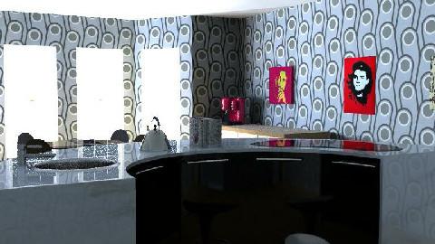 Retro funky Kitchen - Retro - Kitchen  - by SpaceMaker