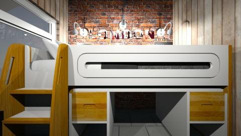 my bedroom design  - by desiner 238
