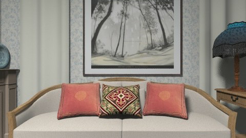 Snug - Rustic - Living room  - by milyca8
