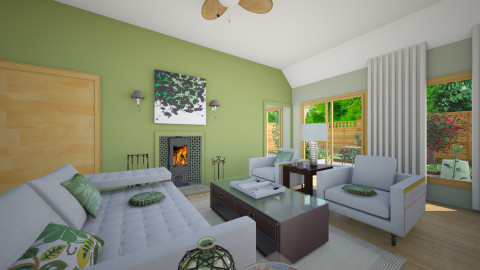 Simple design for comfort - Eclectic - Living room  - by mrschicken