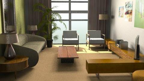 mvl2 - Retro - Living room  - by whateffer