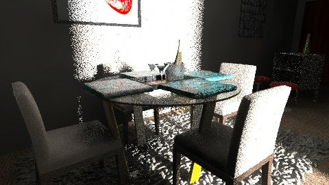 My First Apartment - Dining Room  - by dcohen9