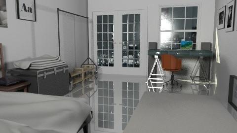 Berlin - Minimal - Bedroom  - by monikica