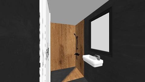 Bath downstairs - Modern - Bathroom  - by nadineundmikael