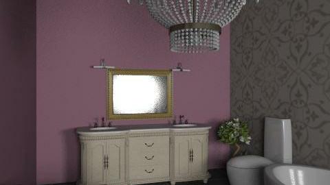 Bathroom - Glamour - Bathroom  - by sintija_brauere