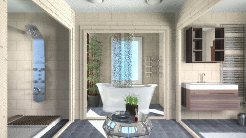 Open bathroom - Modern - Bathroom  - by APInteriors