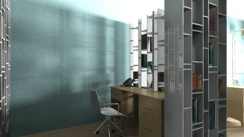 Nautical Office - Eclectic - Office  - by Jastarbuck