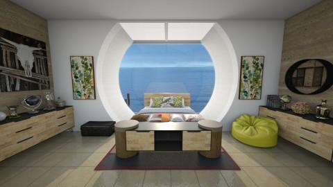 A shot of Cachaca - Modern - Bedroom  - by Bianca Biffa Hart