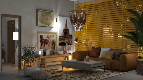 CHIC - Living room  - by zarky