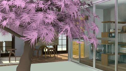 casa FABRICE - Retro - Living room  - by cibelles