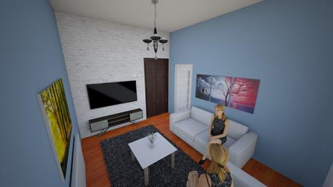 gyjyjk - Living room  - by filozof