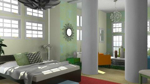 studio - Eclectic - by trees designs