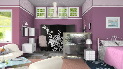 Living in the airspace - Eclectic - Living room  - by milyca8