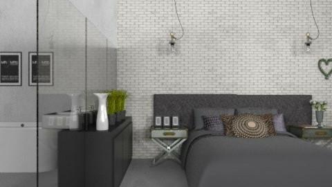 Lofty Spaces - Modern - Bedroom  - by Carliam
