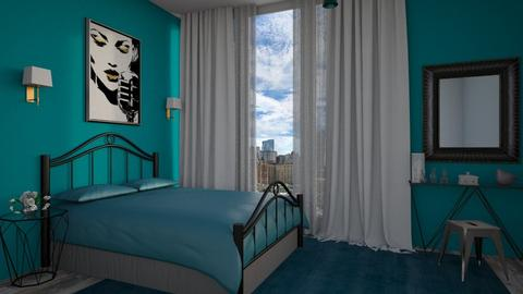 Turquoise - Bedroom  - by Sanja Pipercic