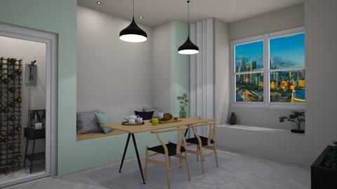Scandinavian Dining Room - by jafta