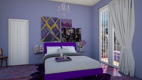 purple haze - Glamour - Bedroom  - by rosej