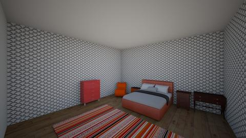 Red room - Bedroom  - by Cashnasty