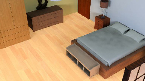 Template Room 1 - by Pukanina