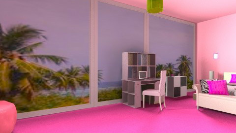View Bedroom - Glamour - Bedroom  - by Sparkly_Pink_Princess18