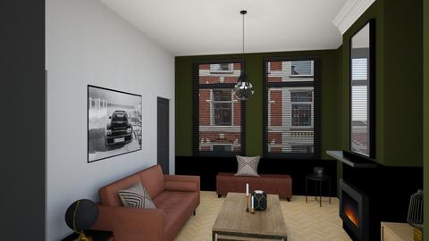 Living room 1890 green - Living room - by Esko123