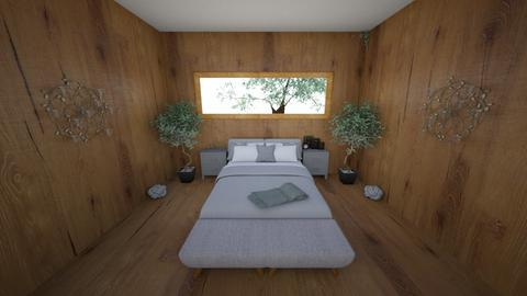 bedroom - by Zala Modec