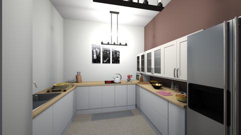 2 model kitchen - Modern - Kitchen  - by Tanto