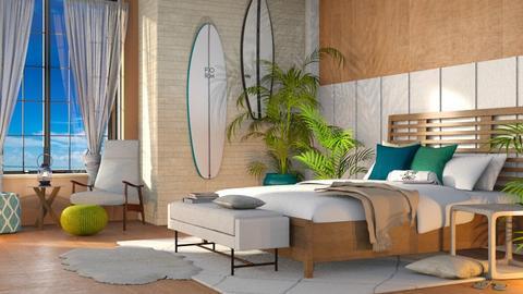 Surf Bedroom - Modern - Bedroom  - by millerfam