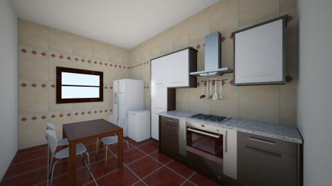Bucatarie 11 - Rustic - Kitchen  - by Ionut Corbu