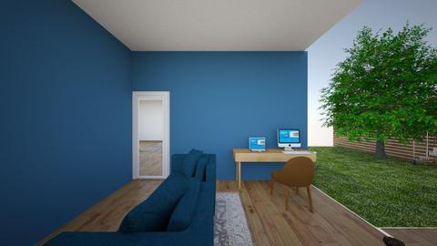 oficina family room  - Office  - by Hmarianao
